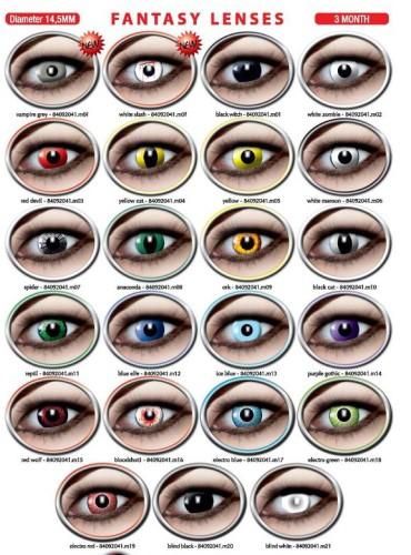 Fantasy lenses 3month