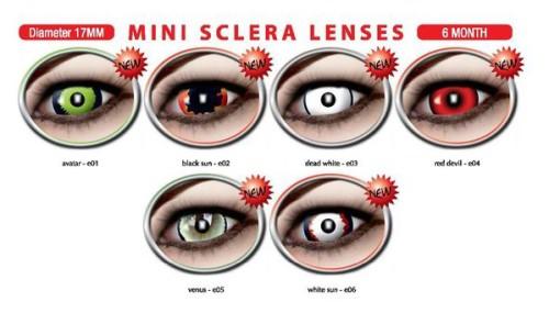 MINI Sclera Lenses