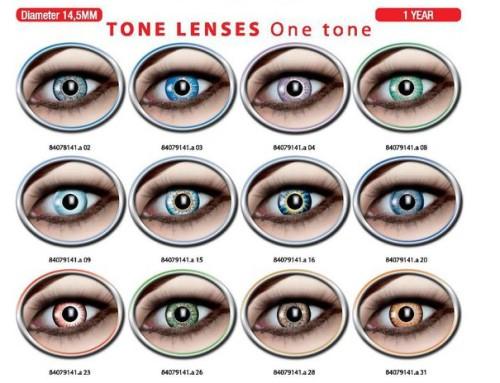 One Tone lenses