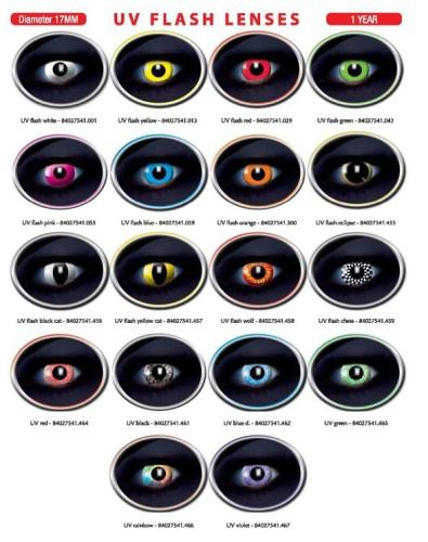 UV Flash lenses
