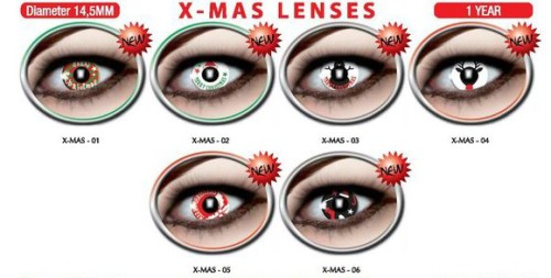 X-MAS lenses